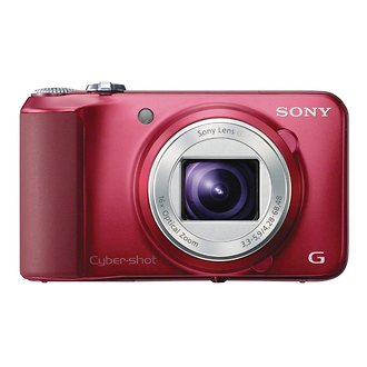 Sony | DSC-H90 Cyber-shot Digital Camera (Red) | DSCH90R