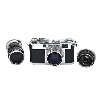S2 Rangefinder 35mm Camera Body & Nikkor S-C 50mm f1.4 Lens (Used)