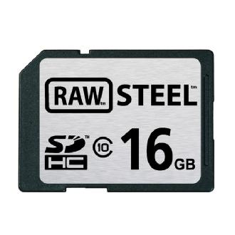 Hoodman | 16GB SDHC Memory Card RAW STEEL Class 10 UHS-1 | RAWSDHC16GBU1