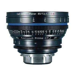Zeiss | Compact Prime CP.2 85mm/T1.5 Super Speed PL Mount with Imperial Markings | 1957-507