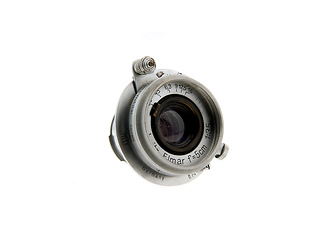 50mm F/3.5 Elmar M39 Screwmount Lens (Used)
