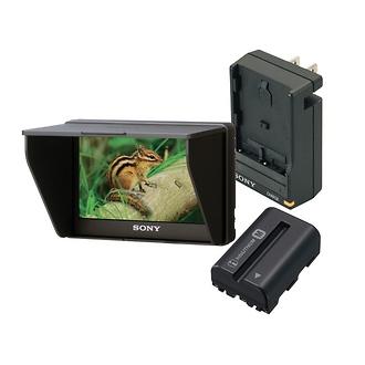 Sony | Portable LCD Monitor Bundle | CLM-V55BDL