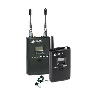Azden | 310LT UHF On-Camera Body-Pack Stystem | 310LT