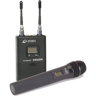 Azden | 310HT UHF On-Camera Handheld System | 310HT