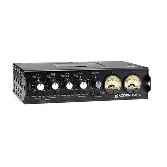 Azden | Azden FMX-42A 4-Channel Microphone Field Mixer | FMX-42A
