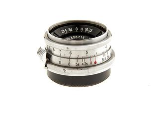 W-Nikkor C Rangefinder S Mount 35mm F/3.5 RF Lens (Used)
