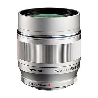 M. Zuiko Digital ED 75mm f/1.8 Lens for Micro 4/3 Cameras