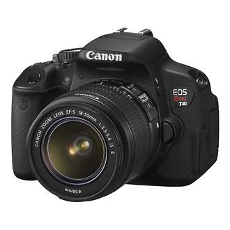 EOS Rebel T4i Digital SLR Camera with EF-S 18-55mm IS Lens