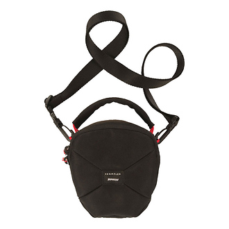 Crumpler | Pleasure Dome Shoulder Bag (Small, Black/Black) | PD1001B00G40