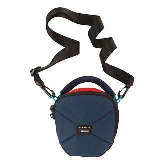Crumpler | Pleasure Dome Shoulder Bag (Small, Navy/Rust) | PD1001U04G40