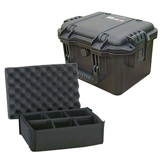 Black iM2075 Storm Case with Padded Dividers