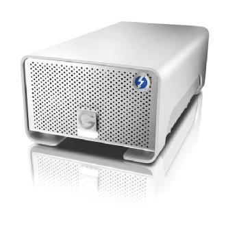 G-Technology | 8TB G-Raid External Hard Drive Array with Thunderbolt | 0G02272GOLD