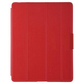 PixelSkin HD Wrap Case for iPad 3, Pomodoro Red