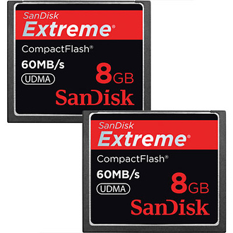 SanDisk | CompactFlash Memory Card Extreme 400x UDMA