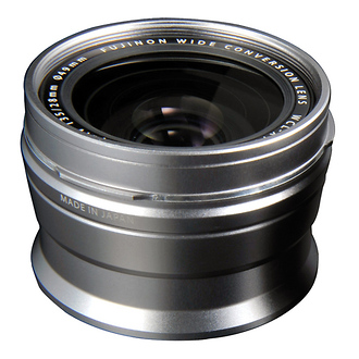 Fujifilm | WCL-X100 Wide-Angle Conversion Lens for X100 Camera (Silver) | 16260298