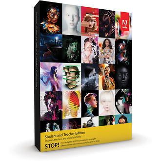 Adobe   Creative Suite 6 Master Collection for Mac (Student & Teacher Edition)   65167979