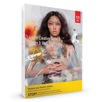 Adobe | Creative Suite 6 Design & Web Premium for Mac (Student & Teacher Edition) | 65177812