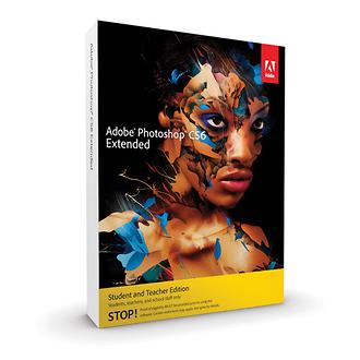 Adobe | Photoshop Extended CS6 for Windows (Student & Teacher Edition) | 65171324
