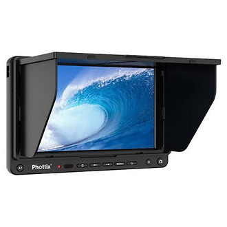 Phottix | Hector 7 in. HD Live View Wired Remote LCD Monitor & Hood | PH12412