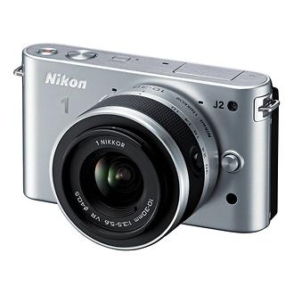 Nikon | 1 J2 Mirrorless Digital Camera with 10-30mm VR Zoom Lens - Silver | 27574
