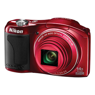 Coolpix L610 Digital Camera - Red