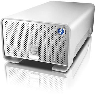 G-Technology | 6TB G-RAID External Hard Drive Array with Thunderbolt | 0G02298GOLD