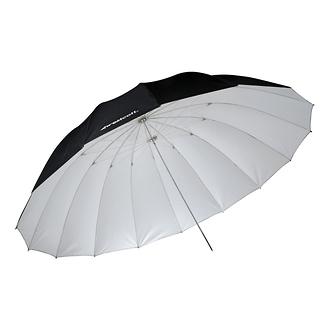 Westcott | 7 ft. Parabolic Umbrella (White / Black) - Open Box* | 4634O