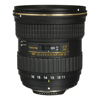 Tokina 11-16mm Lens with Nikon Mount