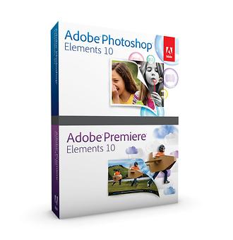 Adobe | Photoshop Elements 10 & Premiere Elements 10 for Mac & Windows | 65136565
