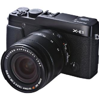 Fuji | X-E1 Digital Camera (Black) w/18-55mm lens | 16276467