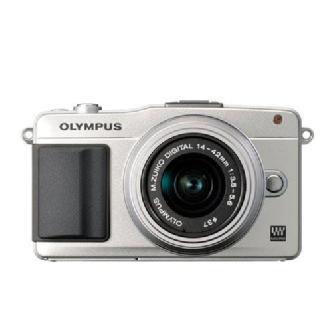 Olympus | E-PM2 Digital Camera with 14-42mm 2R Zoom Lens (Silver) | V206021SU000