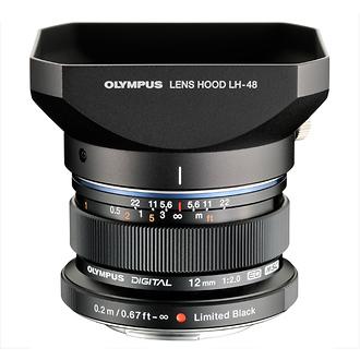 Olympus | M.ZUIKO DIGITAL ED AF 12mm f2.0 Limited Edition (Black) | V311021BU000