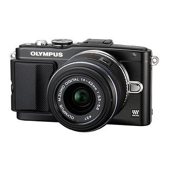 Olympus   E-PL5 Digital Camera with 14-42mm 2R Zoom Lens (Black)   V205041BU000