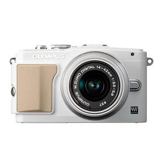 lympus | E-PL5 Digital Camera with 14-42mm 2R Zoom Lens (White) | V205041WU000
