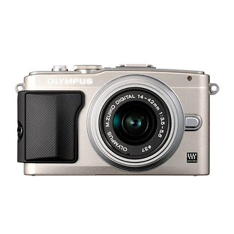 Olympus | E-PL5 Digital Camera with 14-42mm 2R Zoom Lens (Silver) | V205041SU000