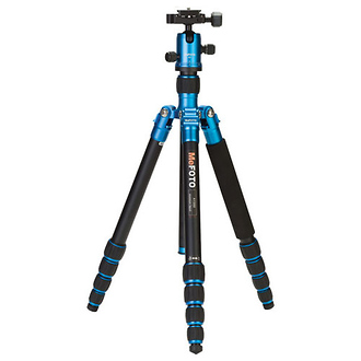 MeFOTO | RoadTrip Travel Tripod Kit (Blue) | A1350Q1B