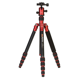 MeFOTO | RoadTrip Travel Tripod Kit (Red) | A1350Q1R
