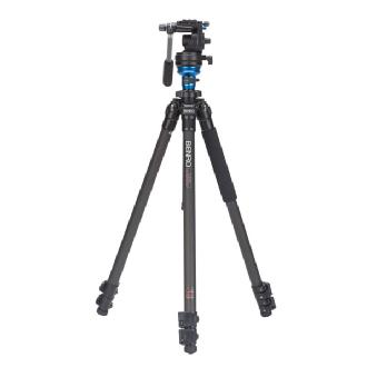 Benro | S-Series 1 Video Head & CF Flip Lock Legs Tripod | C1573FS2