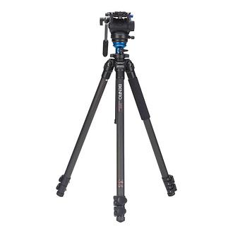 Benro | S-Series 2 Video Head & CF Flip Lock Legs Tripod | C2573FS4