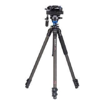 Benro | S-Series 2 Video Head & CF Flip Lock Legs Tripod | C2573FS6