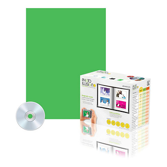 Westcott   Digital Green Screen Photo Kit with Bonus Holiday Image CD   417H