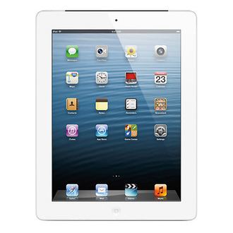 Apple | 64GB iPad with Retina Display and Wi-Fi + 4G LTE (4th Gen, AT&T, White) | MD521LLA