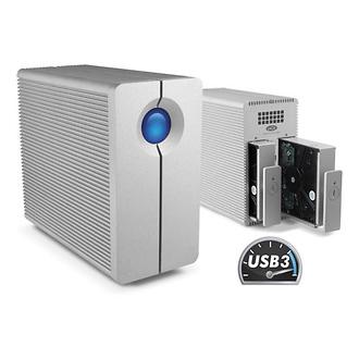 LaCie | 6TB 2big Quadra USB 3.0 2-Bay RAID Array | 9000354