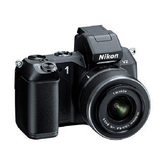 Nikon   1 V2 Mirrorless Digital Camera with 1 NIKKOR VR 10-30mm Lens (Black)   27604