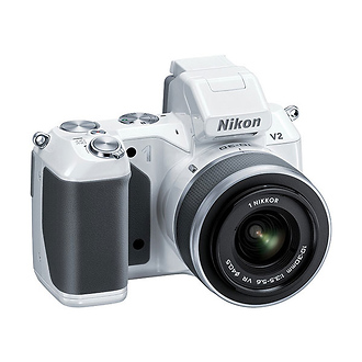 Nikon | 1 V2 Mirrorless Digital Camera with 1 NIKKOR VR 10-30mm Lens (White) | 27605