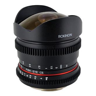 Rokinon | 8mm T/3.8 Fisheye Cine Lens for Nikon | RK8MVN