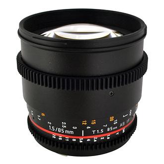 Rokinon | 85mm T/1.5 Cine Lens for Sony E Mount Cameras | CV85MNEX