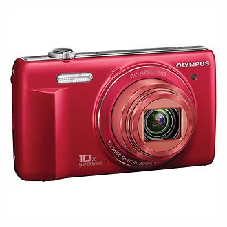 Olympus | VR-340 Digital Camera (Red) | V105080RU000