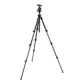 Manfrotto 4-Section Carbon Fiber Tripod with Q5 Ball Head