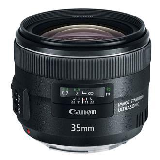 Canon | EF 35mm f/2.0 IS USM Standard Prime Lens | 5178B002